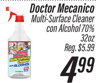 Doctor Mecánico Multi-Surface Cleaner