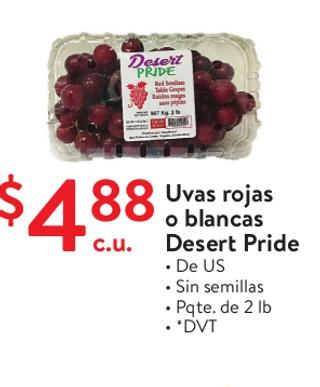 Uvas Rojas o Blancas Desert Pride