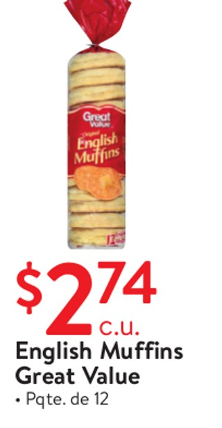 English Muffins Great Value