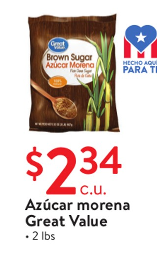 Azúcar Morena Great Value