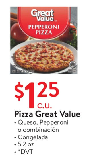 Pizza Great Value