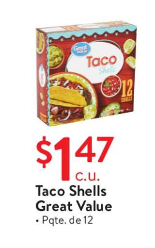 Taco Shells Great Value