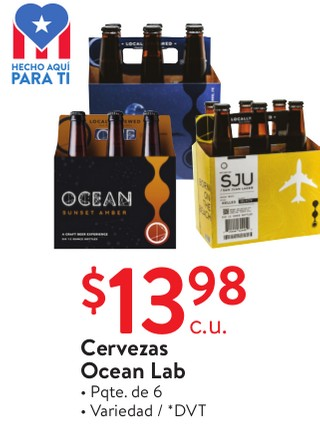 Cervezas Ocean Lab