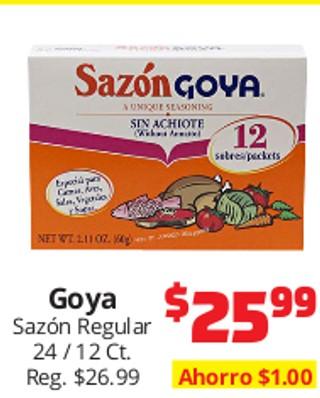Goya Sazón Regular