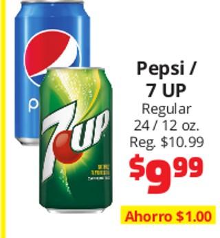 Pepsi / 7 Up