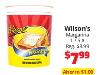 Wilson's Margarina