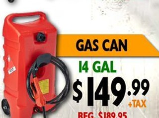 Gas Can 14 Gal