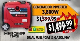 Generador Inverter 3,00 W