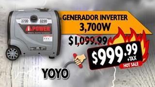 Generador Inverter 3,700 W
