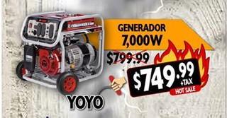 Generador 7,000W