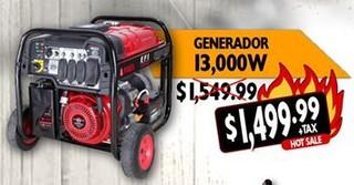 Generador 13,000 W