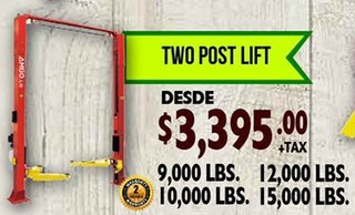 Two Post Lift