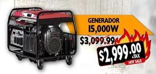Generador 15,00 W