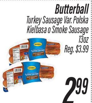 Butterball Turkey Sausage