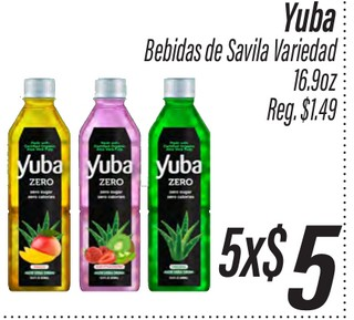 Yuba Bebidas de Savila