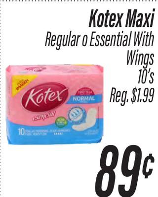 Kotex Maxi