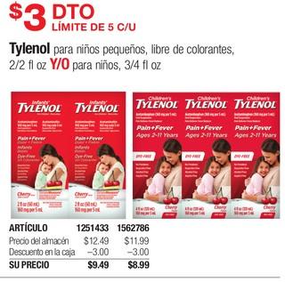 Tylenol para Niños Pequeños