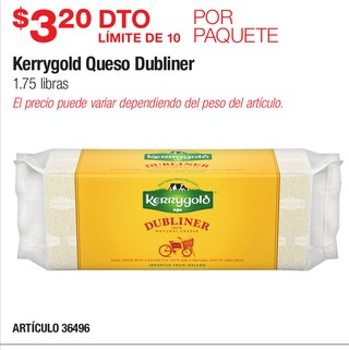 Kerrygold Queso Dubliner