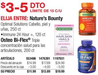 Nature´s Bounty O Osteo Bi-Flex
