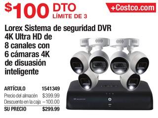 Lorex sistema de Seguridad DVR
