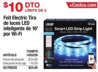 Freit Electric Tira de Luces LED inteligentes de 16´por WI-Fi