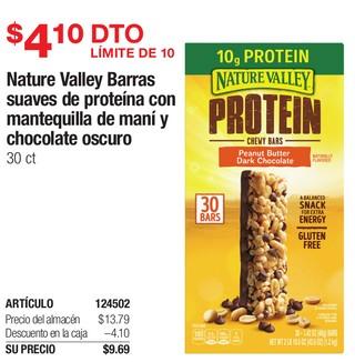Nature Valley Barras Suaves de Proteina