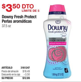 Downy Fresh Protect Perlas Arómaticas