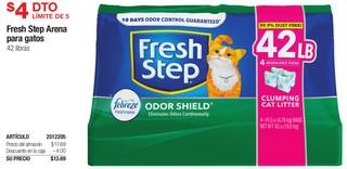 Fresh Step Arena para Gatos