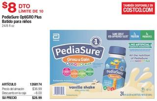 PediaSure OptiGRO Plus Batido para Niños