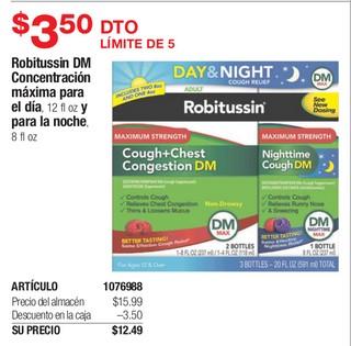 Robitussin DM Concentración Máxima