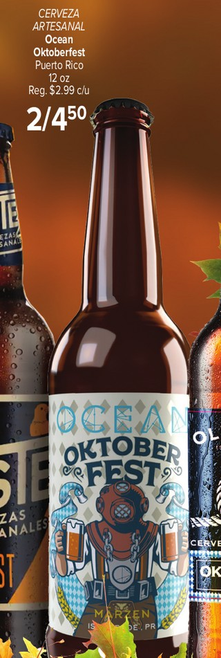 Cerveza Artesanal Ocean Oktoberfest