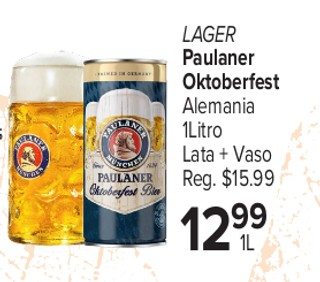 Lager Paulaner Oktoberfest Alemania