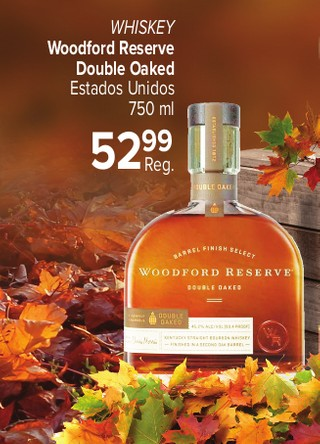 Whiskey Woodford Reserve Double Oaked Estados unidos
