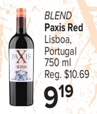 Blend Paxis Red Lisboa