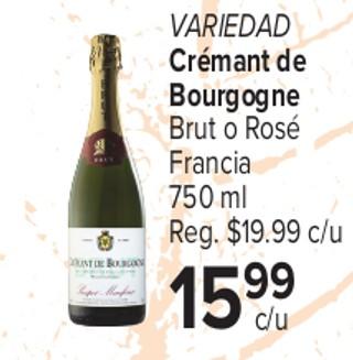 Variedad Crémant de Bourgogne
