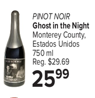 Pinot Noir Ghost In The Night