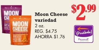 Moon Cheese Variedad