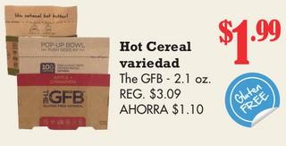 Hot Cereal Variedad