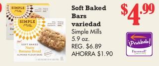 Soft Baked Bars Variedad