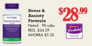 Stress & Anxiety Formula