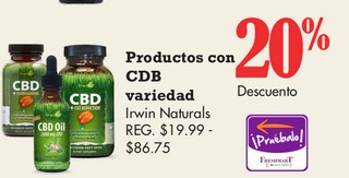 Productos con CDB