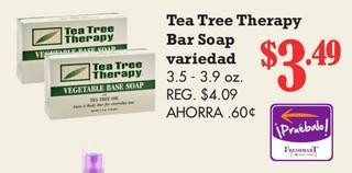 Tea Tree Therapy Bar Soap Variedad