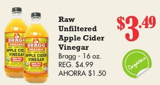 Raw Unfiltered Apple Cider Vinegar Bragg
