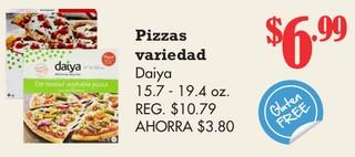 Pizzas variedad Daiya
