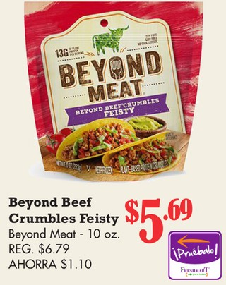 Beyond Beef Crumbles Feisty Beyond Meat