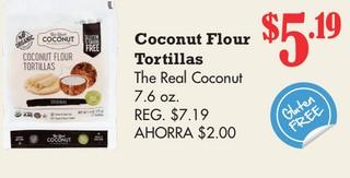 Coconut Flour Tortillas The Real Coconut