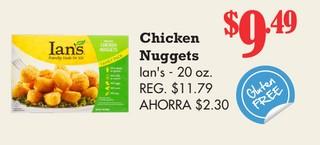 Chicken Nuggets Ian's