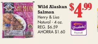 Wild Alaskan Salmon Henry & Lisa Natural