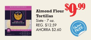 Almond Flour Tortillas Siete