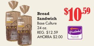 Bread Sandwich Base Culture